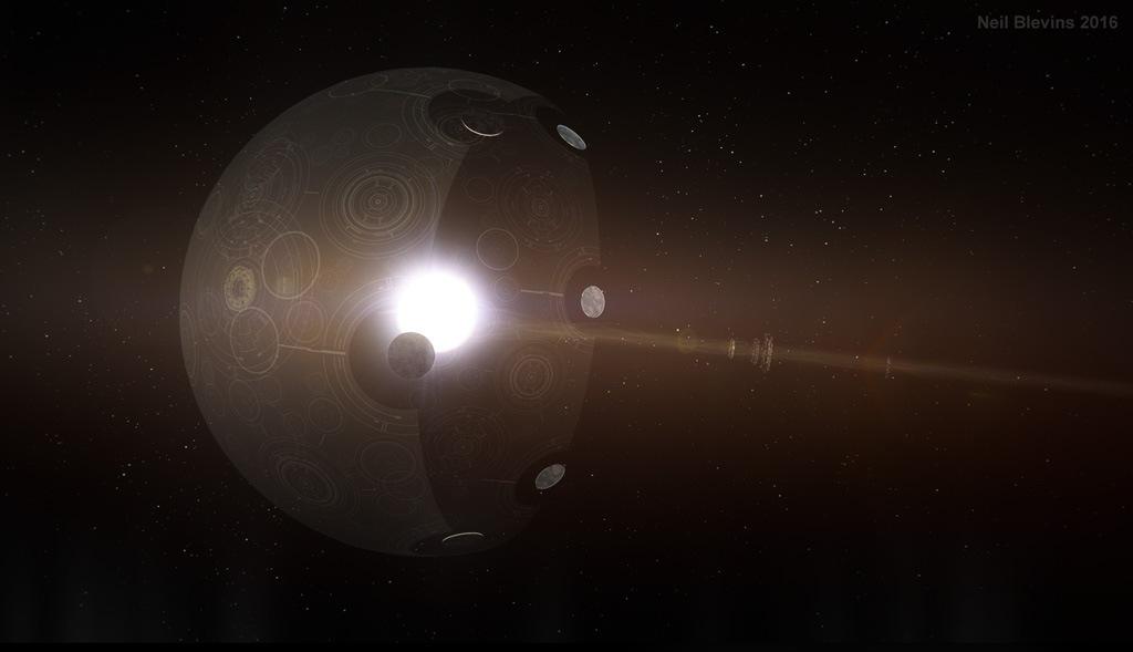 Теоретически возможные космические мегаструктуры - 19