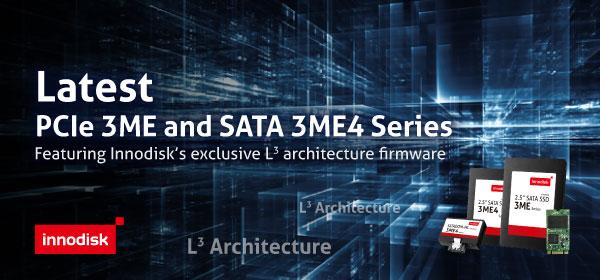 Новое поколение промышленных SSD Innodisk построено на фирменной архитектуре L3