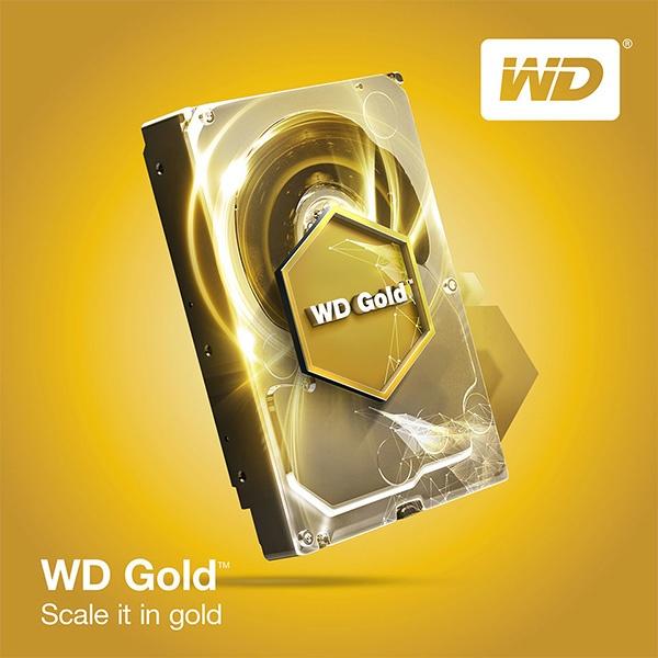 HDD Western Digital серии Gold дотянулись до отметки в 10 ТБ