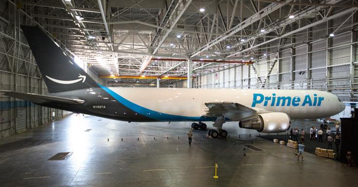 Компания Amazon уже арендовала 11 самолетов из 40