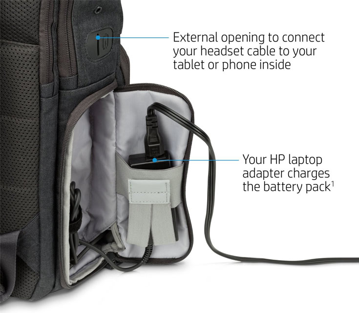Цена HP Powerup Backpack — $200