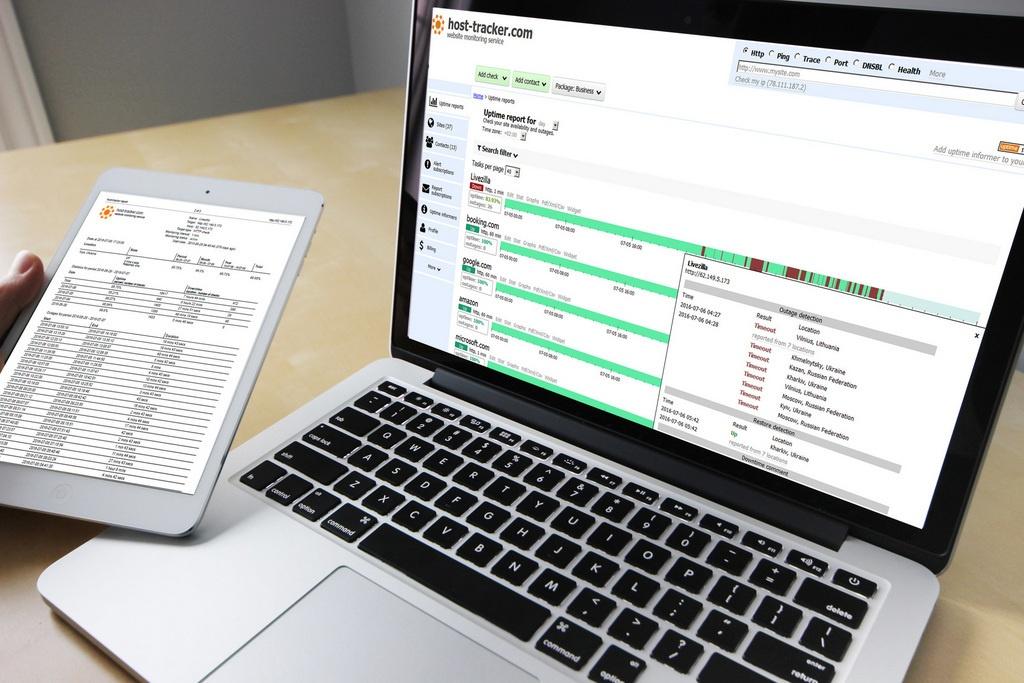 Для чего нужен мониторинг? Обзор сервиса ХостТрекер - 1