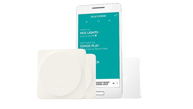 Для настройки Logitech Pop Home Switch используется смартфон с мобильным приложением
