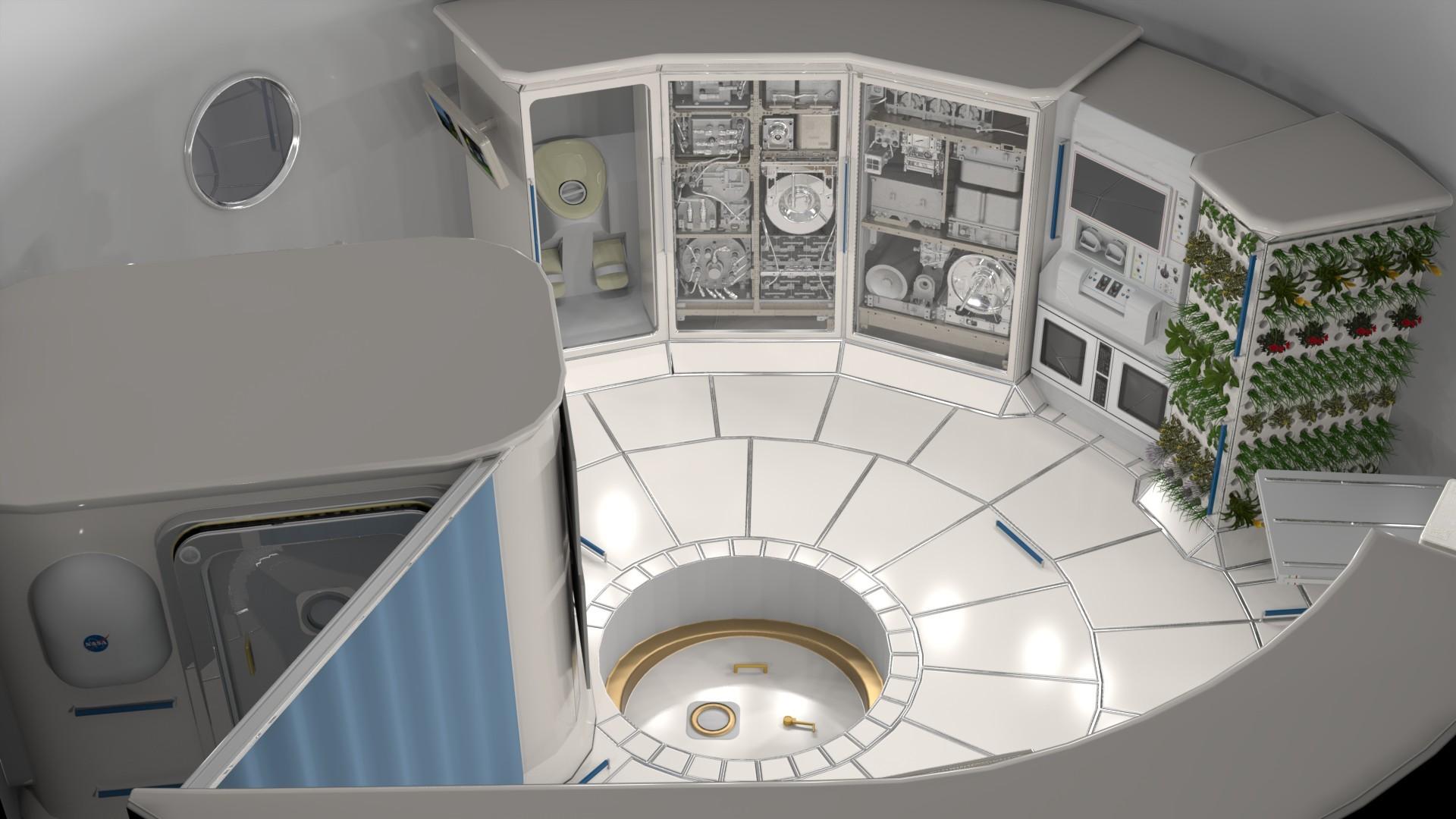 НАСА выбрало подрядчиков для разработки жилья в дальнем космосе - 1