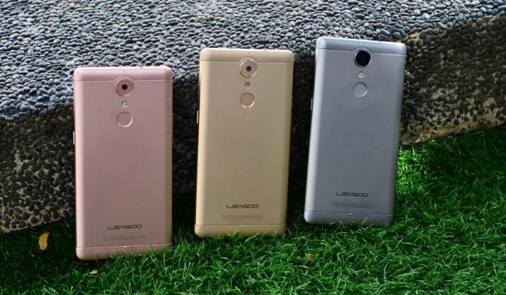 Смартфон Leagoo T1 был сравнен производителем с Oppo F1