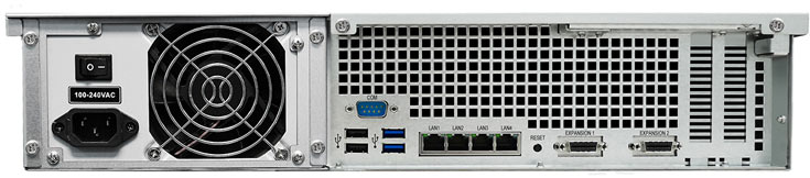 NAS Synology RackStation RS3617xs подойдет для надежного централизованного хранения данных