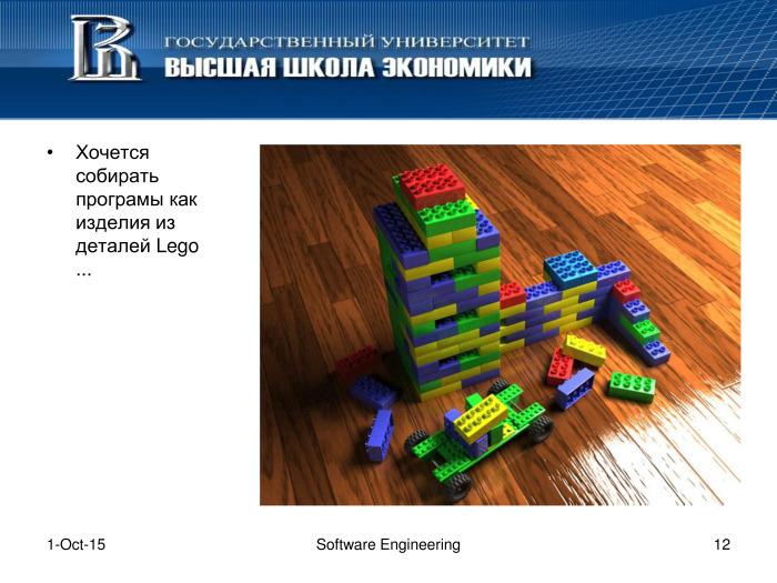Что такое программная инженерия. Лекция в Яндексе - 11