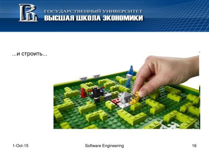 Что такое программная инженерия. Лекция в Яндексе - 15