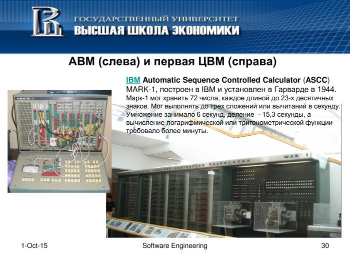 Что такое программная инженерия. Лекция в Яндексе - 29