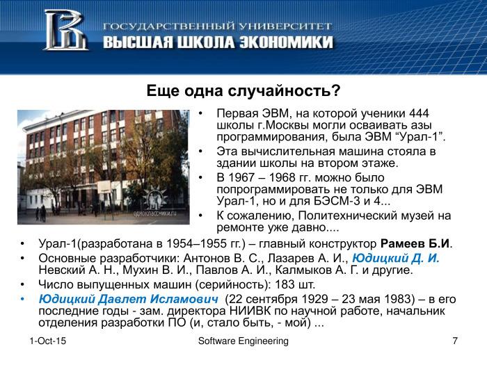 Что такое программная инженерия. Лекция в Яндексе - 6