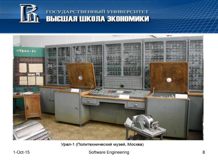 Что такое программная инженерия. Лекция в Яндексе - 7