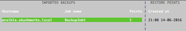 Восстановление из резервной копии с помощью Veeam Agent for Linux - 3