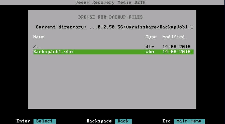 Восстановление из резервной копии с помощью Veeam Agent for Linux - 8
