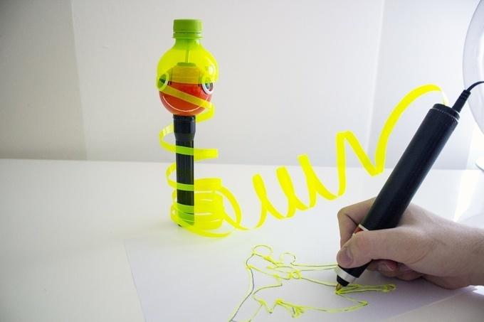 Renegade — первая в мире 3D ручка, которая работает на пластиковых бутылках - 1