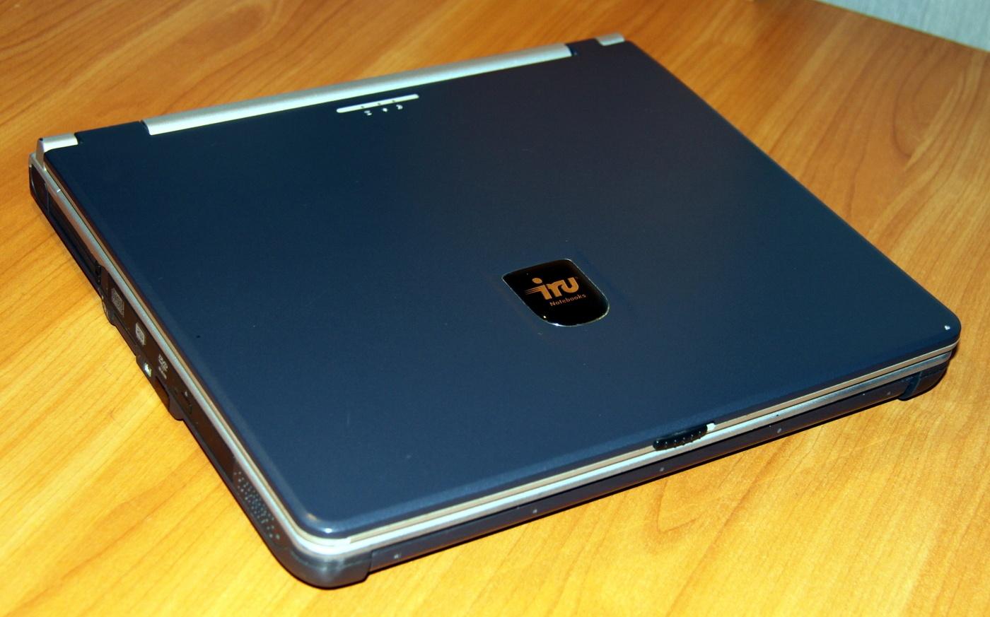 Обзор отечественного ноутбука iRU Brava-4215COMBO, выпущенного в 2004 году (Часть 1) - 1