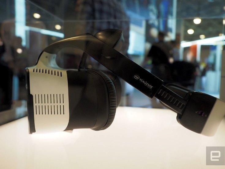 Intel разрабатывает гарнитуру VR Project Alloy