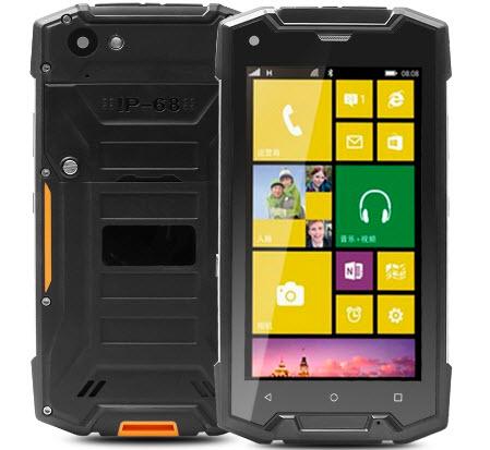 Смартфон RMQ5018 за $130 может работать под управлением Windows 10 Mobile или Android 5.1