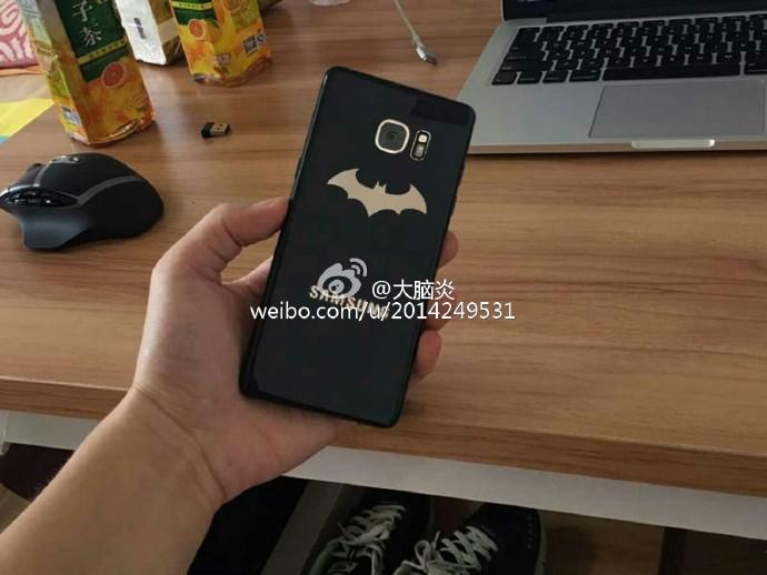 Смартфон Samsung Galaxy Note 7 Injustice Edition засветился на фотографиях