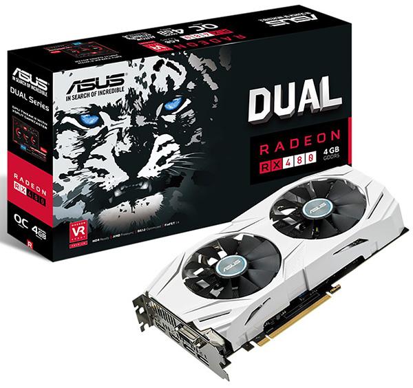 Asus Radeon RX 480 Dual OC