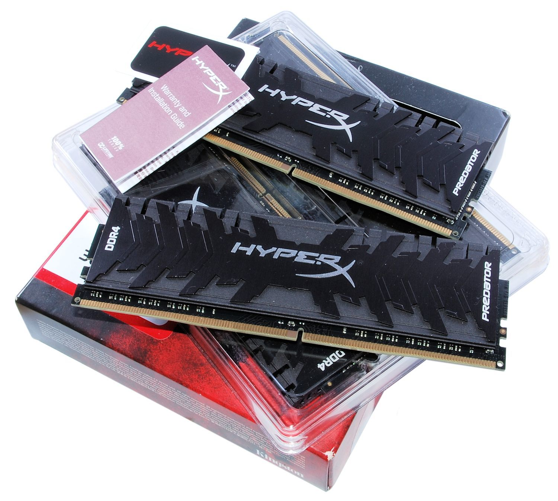 Обзор комплекта памяти HyperX Predator DDR4-3000 - 3