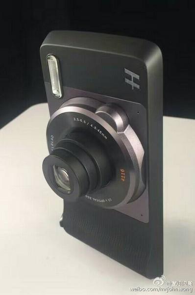 Модуль Hasselblad для смартфонов Moto Z получит 10-кратный оптический зум
