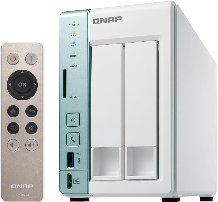 NAS Qnap TS-251A и TS-451A получили порт USB QuickAccess для прямого подключения к ПК