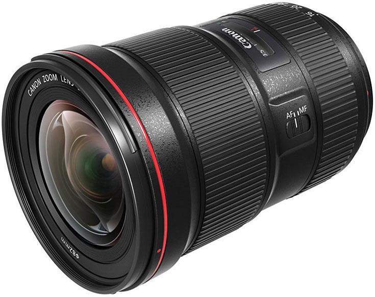 Объектив Canon EF 16-35mm F2.8L III USM должен появиться в продаже в октябре