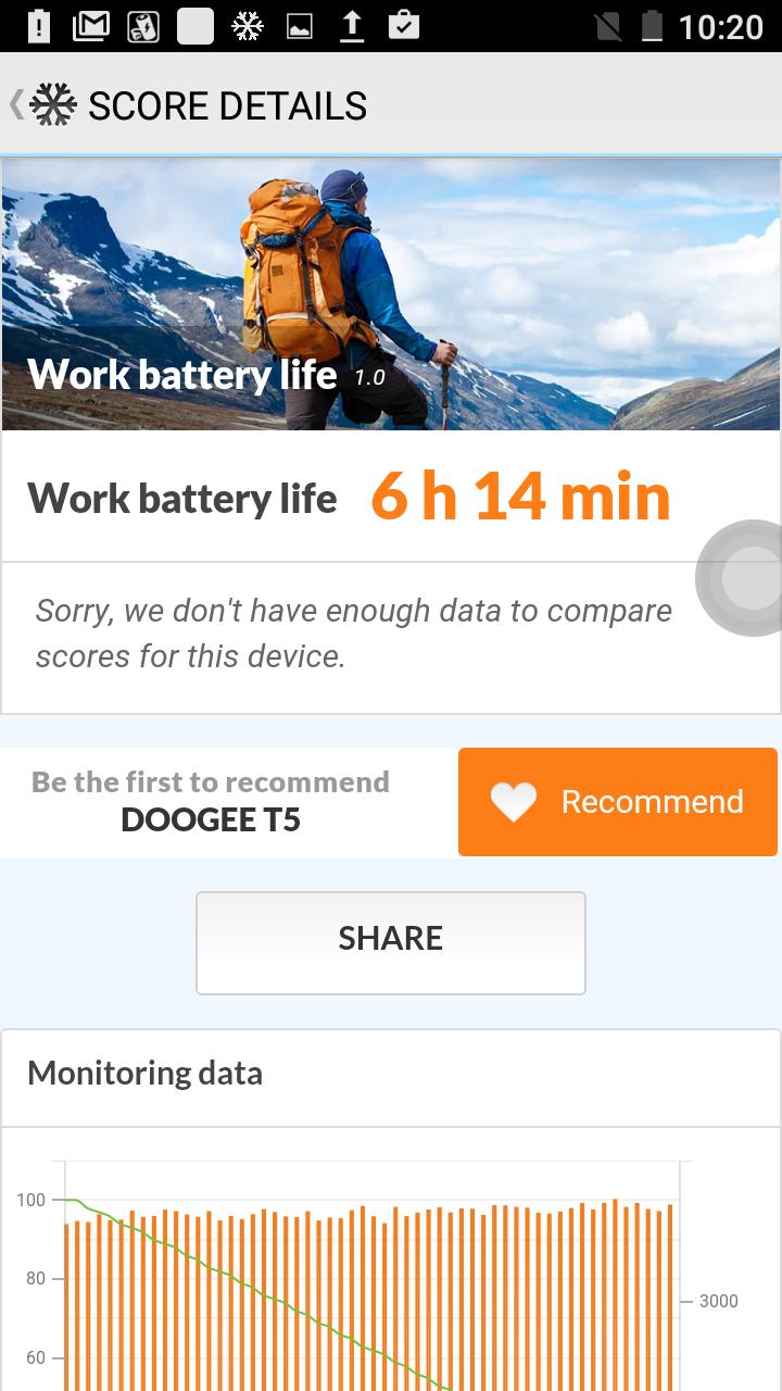 Обзор защищенного смартфона Doogee T5: не дорого, но богато - 27