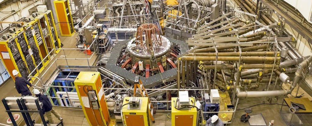 Американские ученые представили сферический токамак нового типа - 1
