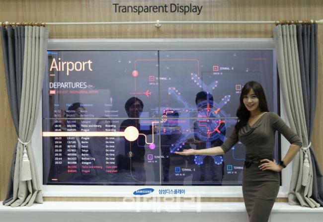 Полупрозрачные панели OLED выпускались на линии V1