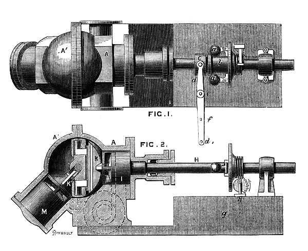 Паровой двигатель Тауэра - 1