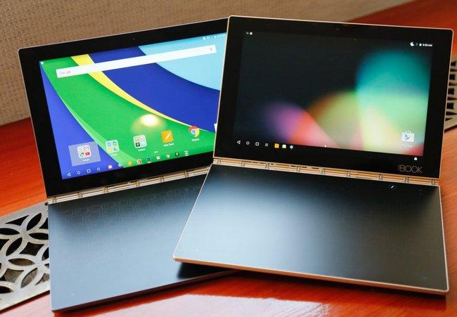 Lenovo Yoga Book – мощный гибридный планшет для любителей писать от руки