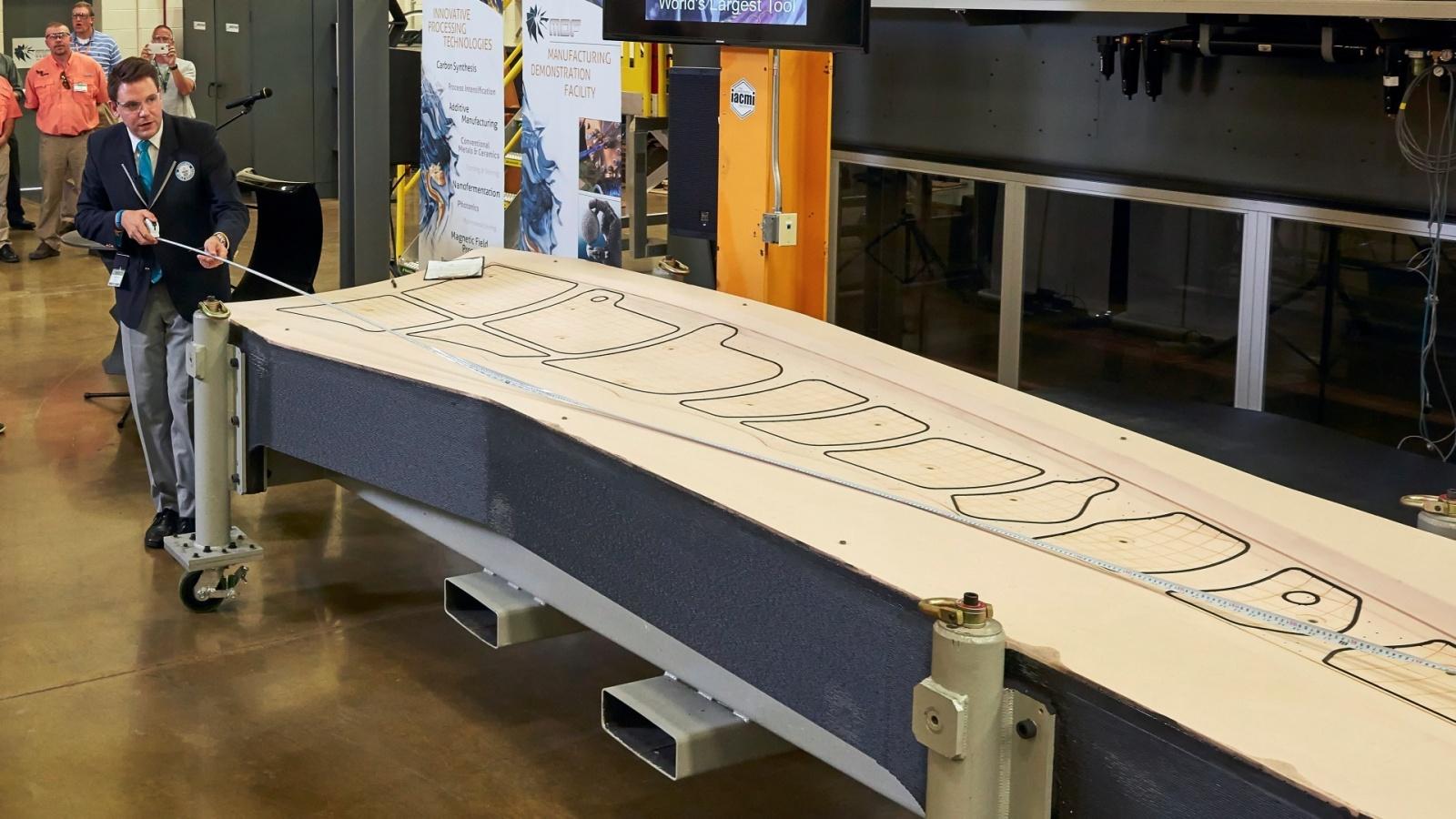Новый рекорд 3D-печати: самый большой твёрдый предмет - 1