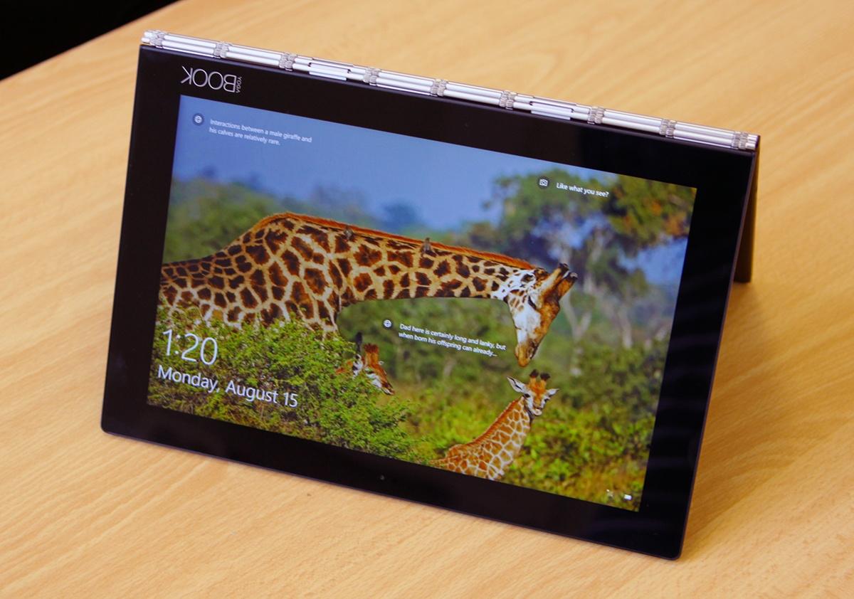 Обзор Lenovo YOGA BOOK — новый класс портативных устройств? - 2