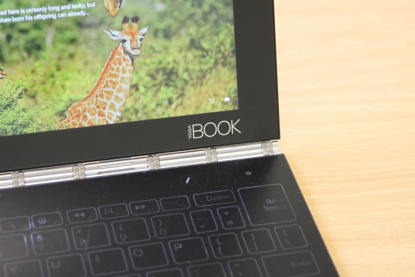 Обзор Lenovo YOGA BOOK — новый класс портативных устройств? - 21