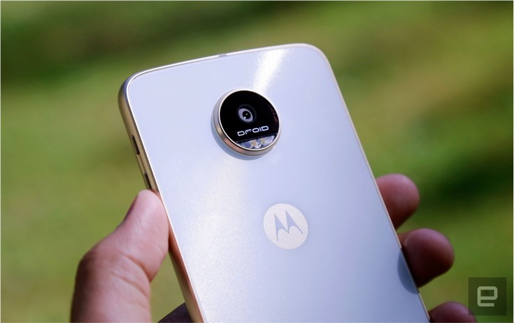 Смартфон Moto Z Play получил SoC Snapdragon 625