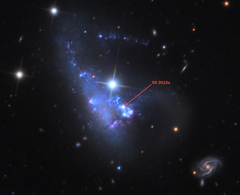 Следующая сверхновая в нашей галактике - 1