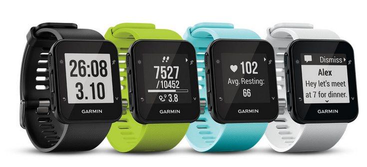 Garmin представила часы Forerunner 35