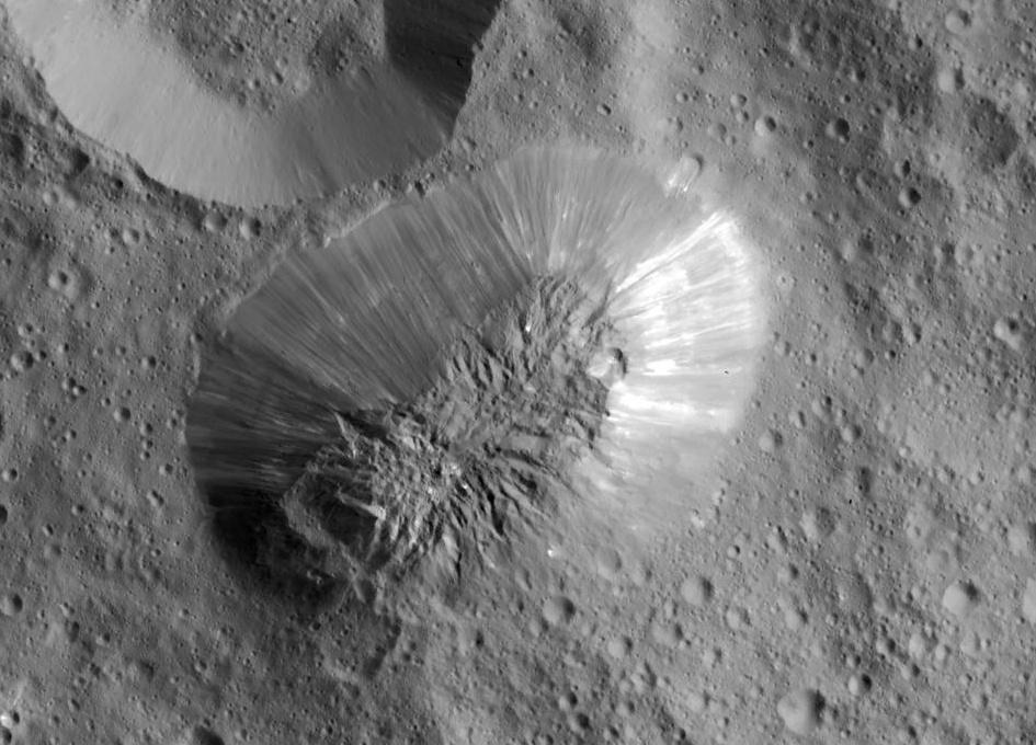 Подтверждено существование криовулканов на Церере - 1