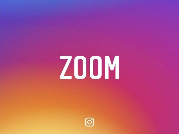 Instagram добавила функцию зумирования