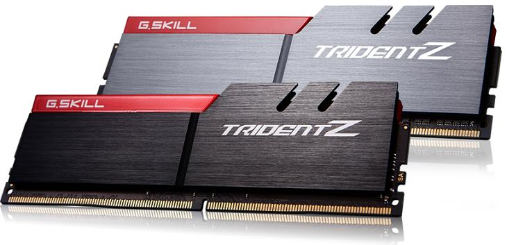 Комплекты G.Skill Trident Z DDR4-3866 работают при напряжении 1,35 В