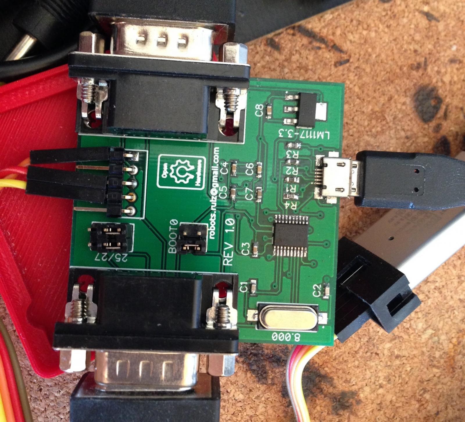 Адаптер педалей и-или шифтера Logitech G25-G27 на STM32 - 4