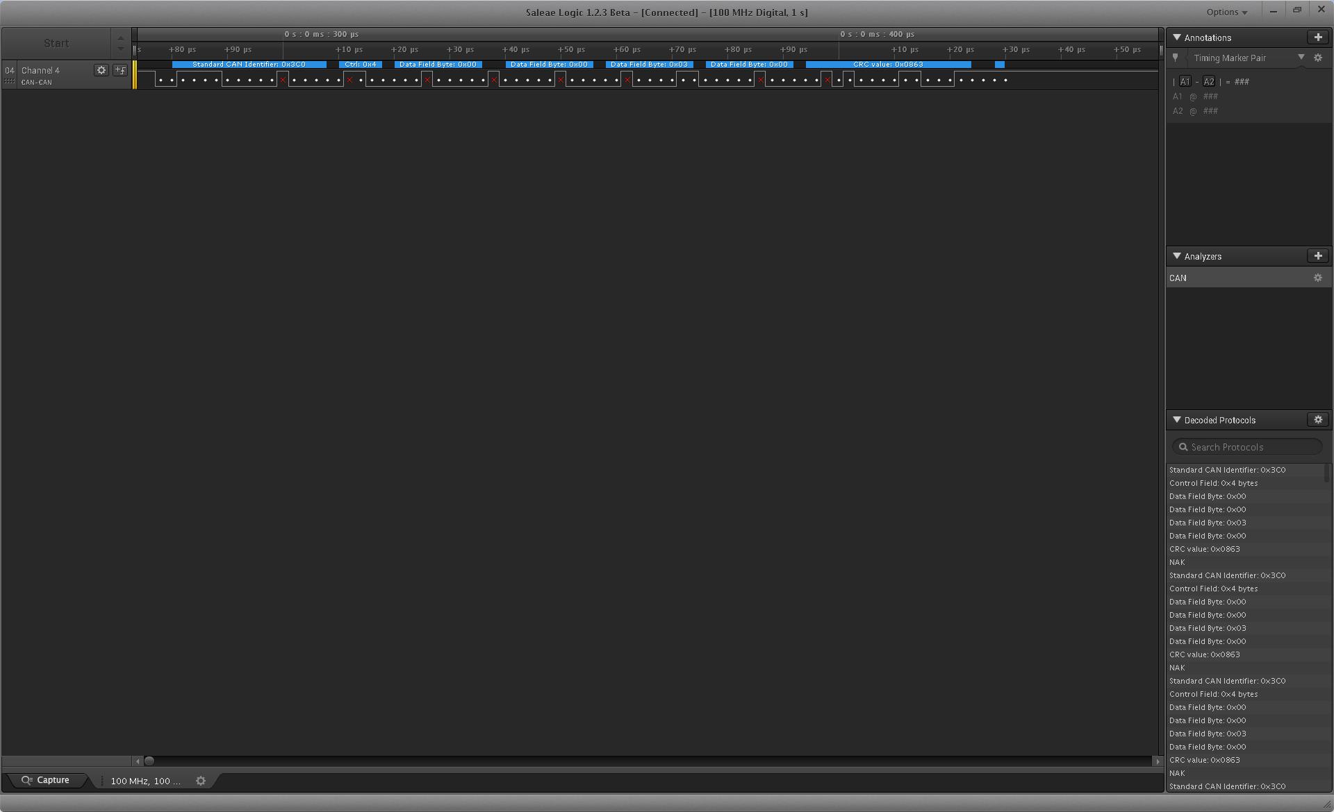 Небольшой обзор логических анализаторов Saleae Logic Pro 8 и DreamSourceLab DSLogic Pro - 16