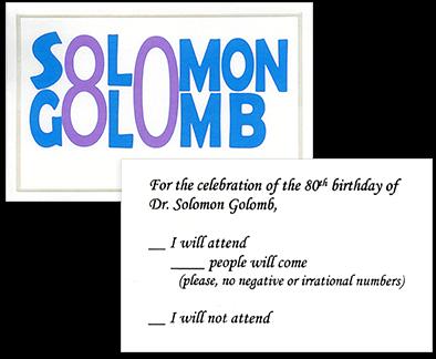 Памяти Соломона Голомба (1932-2016): автора регистра сдвига с линейной обратной связью максимальной длины и полиомино - 27