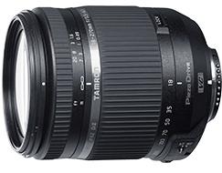 Объектив Tamron 18-270mm F/3.5-6.3 Di II VC PZD (Model B008TS) выпускается в  вариантах с креплениями Canon EF и Nikon F