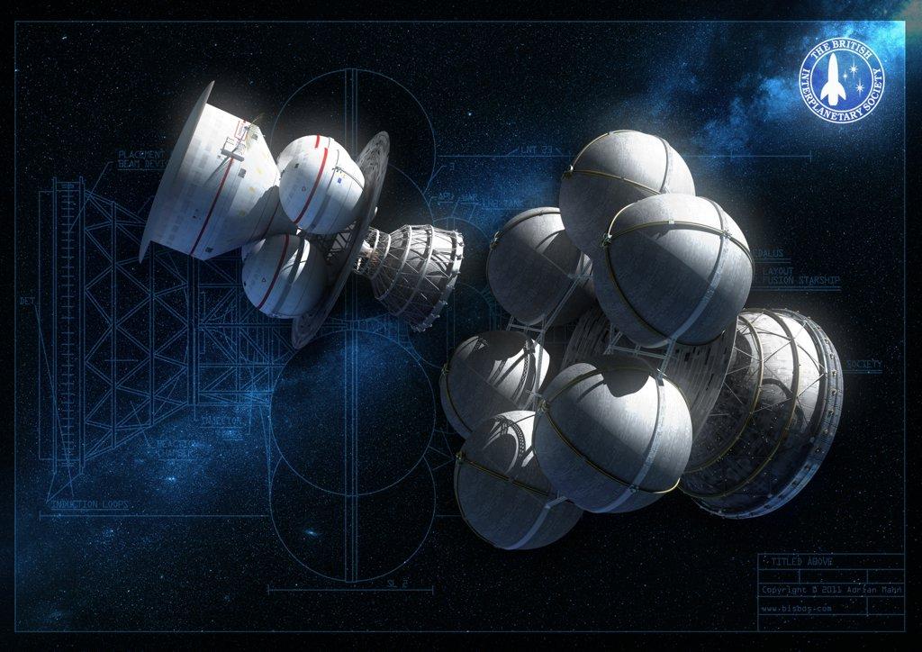 Проект «Дедал»: автоматический звездолет родом из 70-х годов прошлого века - 1