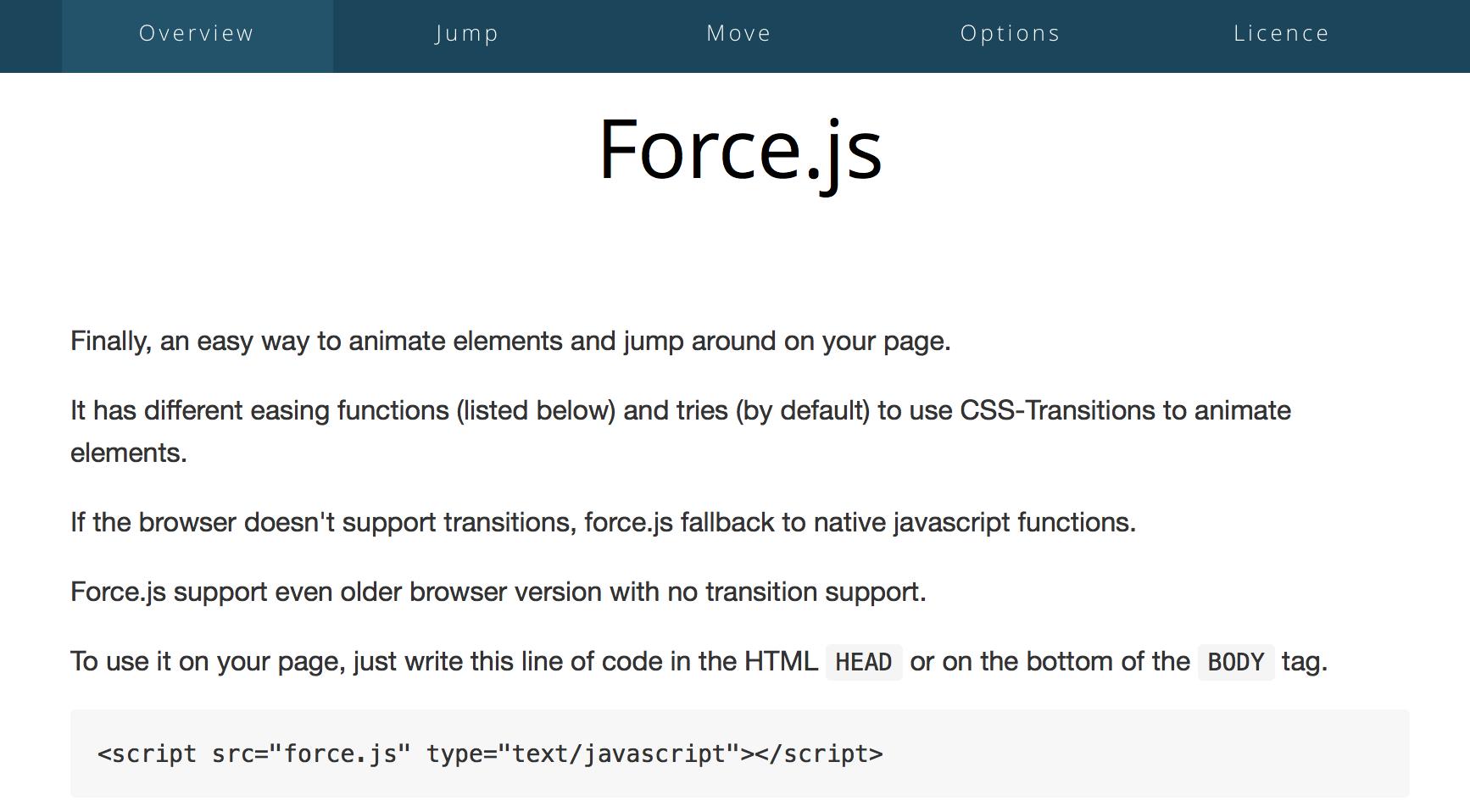 30 легковесных JavaScript плагинов и библиотек - 6