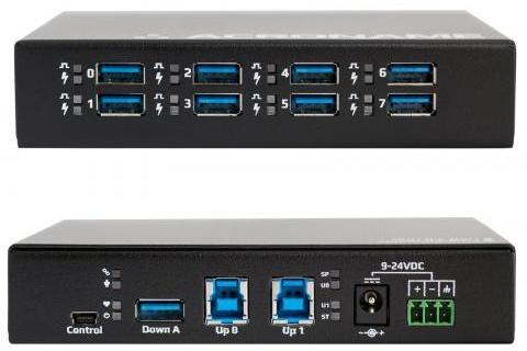 Концентратор Acroname USBHub3+ имеет восемь портов USB 3.0