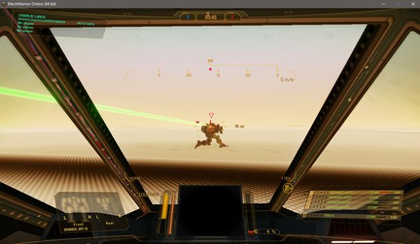 Компенсация лагов для оружия в MechWarrior Online - 2