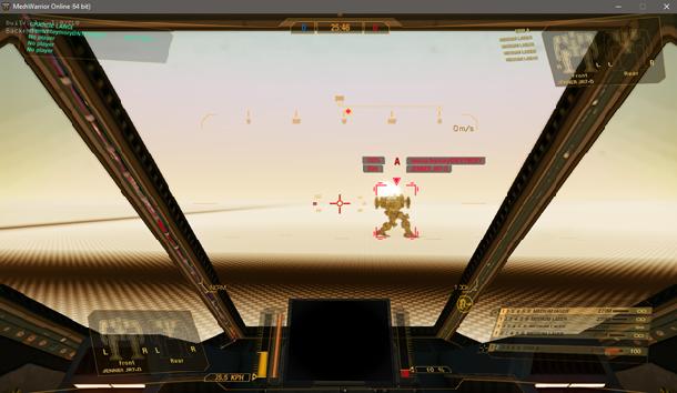 Компенсация лагов для оружия в MechWarrior Online - 5